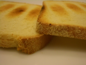 Homemade bread...toasted to perfection
